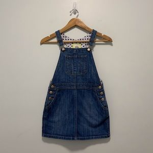 Mini Boden overall dress, size 9-10Y Anthropologie